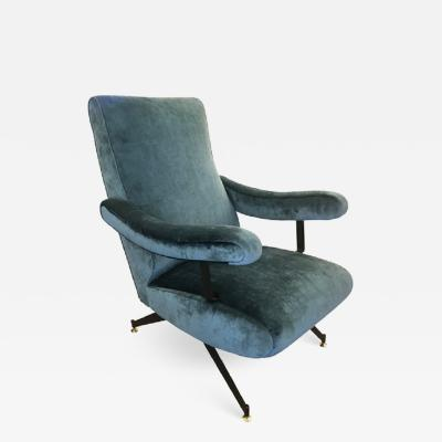 Gianni Moscatelli Reclining Lounge Chair by Formanova