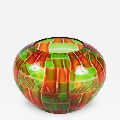Gianni Toso Murano Art Glass Bowl by Gianni Toso