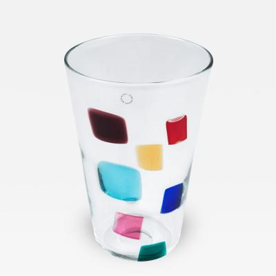 Gianni Versace Murano Glass Vase Design by Gianni Versace for Venini Glass