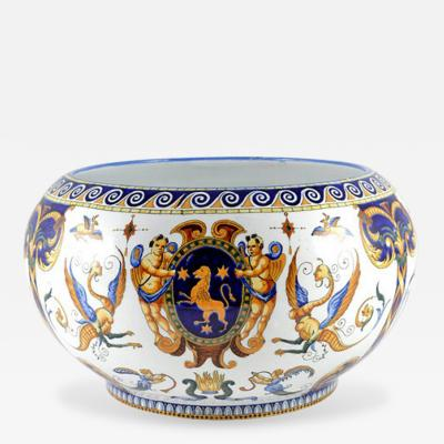 Gien Faience Bowl French 19th Century