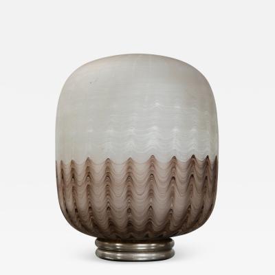 Gigantic Sculptural Glass Table Lamp