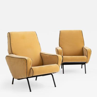 Gigi Radice Armchairs attributed to Gigi Radice