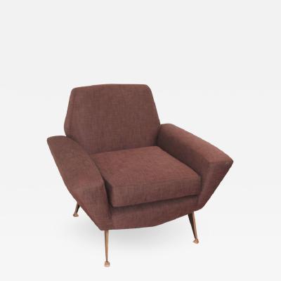 Gigi Radice Italian Mid Century Lounge Chair Attributed to Radice