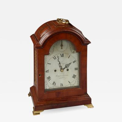 Gilbert Bigger BALTIMORE BRACKET CLOCK
