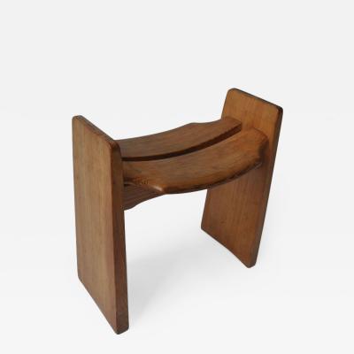 Gilbert Marklund Solid Pine Stool by Gilbert Marklund