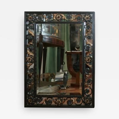 Gilbert Poillerat Art Deco Mirror attributed to POILLERAT