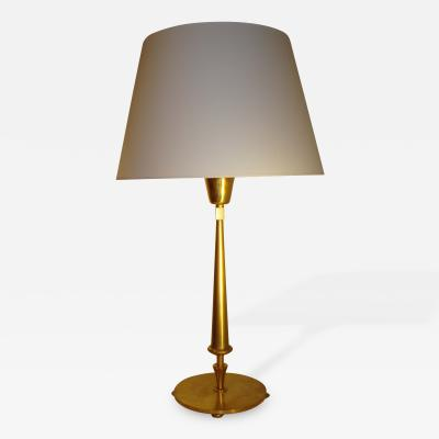 Gilbert Poillerat Bronze Table Lamp by Gilbert Poillerat 1954