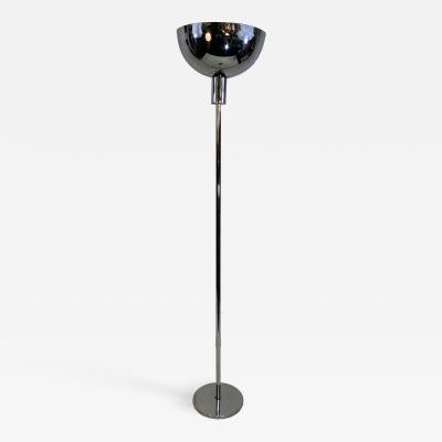Gilbert Rohde ART DECO CHROME MODERNIST TORCHIERE BY GILBERT ROHDE