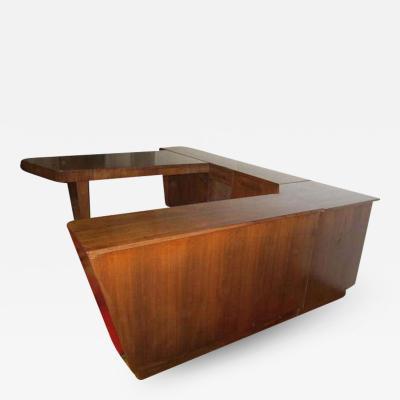 Gilbert Rohde Amazing 4 Piece Gilbert Rohde style Desk Credenza Mid century Modern