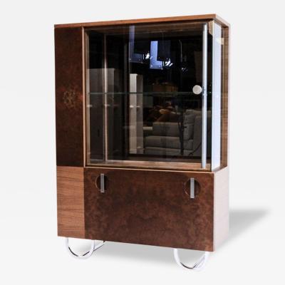 Gilbert Rohde Art Deco Gilbert Rohde Streamline Cabinet for Herman Miller