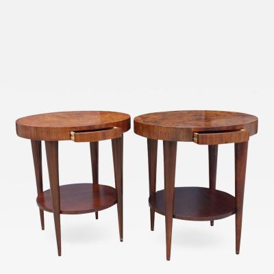 Gilbert Rohde Occasional Tables by Gilbert Rohde for Herman Miller Pair