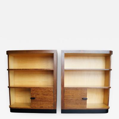 Gilbert Rohde Pair of Art Deco Bookcases by Gilbert Rohde for Herman Miller