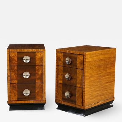 Gilbert Rohde Pair of Nightstands
