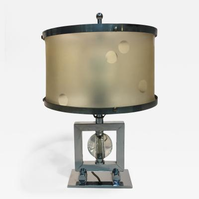 Gilbert Rohde RARE MODERNIST ART DECO LAMP BY GILBERT ROHDE