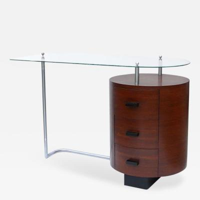 Gilbert Rohde Rare1934 Art Deco Floating Desk by Gilbert Rohde for Herman Miller