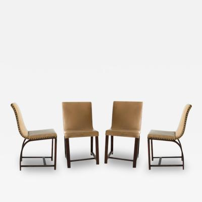 Gilbert Rohde Set of Four Art Deco Chairs Gilbert Rohde Heywood Wakefield