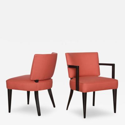Gilbert Rohde Set of Six Gilbert Rohde Dining Chairs for Herman Miller