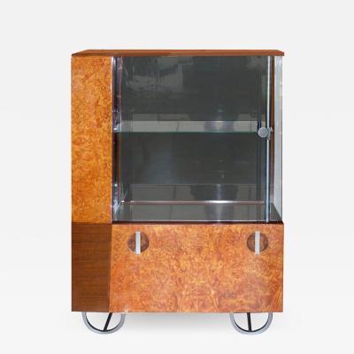 Gilbert Rohde Streamline Art Deco Cabinet by Gilbert Rohde for Herman Miller 1933