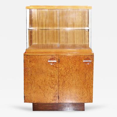 Gilbert Rohde Tall Art Deco Cabinet by Gilbert Rohde for Herman Miller 1937