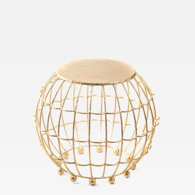 Gilded Cage Occasional Table From Fisher Weisman