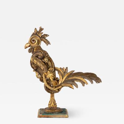 Gilded Fragment Rooster