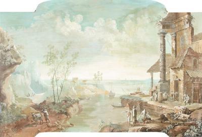 Gilt Framed Capriccio