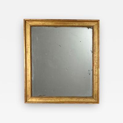 Gilt Wood Mirror France Circa 19th Century