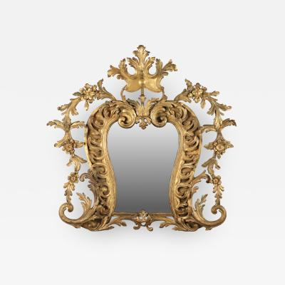Gilt Wrought Iron Mirror 18th c