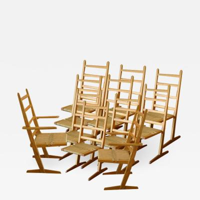 Gino Russo Conoid Chairs