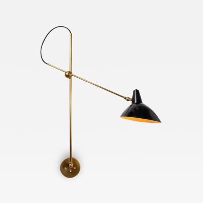 Gino Sarfatti 1950s Gino Sarfatti Articulating Wall Light for Arteluce