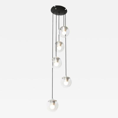 Gino Sarfatti 5 Light Hanging Fixture 2095 by Gino Sarfatti for Arteluce
