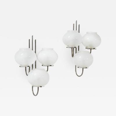 Gino Sarfatti A pair of wall lights Maud 245