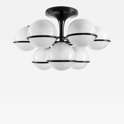 Gino Sarfatti Chandelier Model 2042 9 by Gino Sarfatti for Arteluce