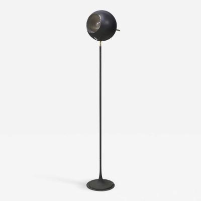 Gino Sarfatti Gino Sarfatti Floor Lamp MidCentury for Arteluce in black Model 1082 1950s