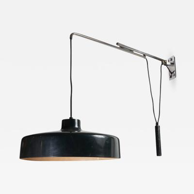 Gino Sarfatti Gino Sarfatti Model 194N Adjustable Wall Light for Arteluce circa 1950