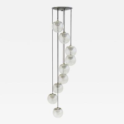 Gino Sarfatti Gino Sarfatti Model 2095 9 Ceiling Lamp for Arteluce