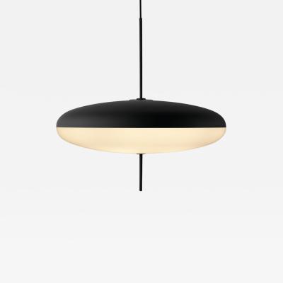 Gino Sarfatti Gino Sarfatti Model No 2065 Ceiling Light in Black and White