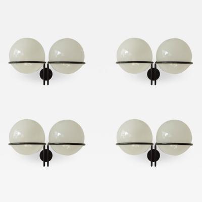 Gino Sarfatti Gino Sarfatti Set of Four Large Mod 239 2 Wall Sconces for Arteluce
