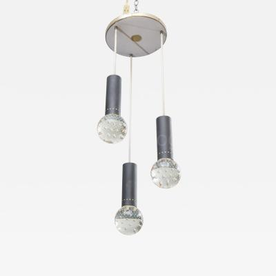 Gino Sarfatti Gino Sarfatti and Archimede Seguso Chandelier for Lightolier