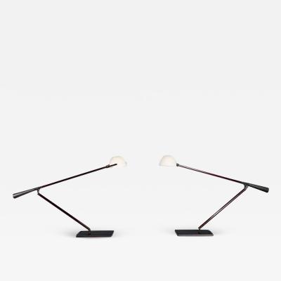 Gino Sarfatti Mid Century Italian Modern Desk or Table Lamps by Gino Sarfatti for Arteluce