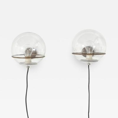Gino Sarfatti Pair Gino Sarfatti 238 1 wall lamps Arteluce Italy 1952