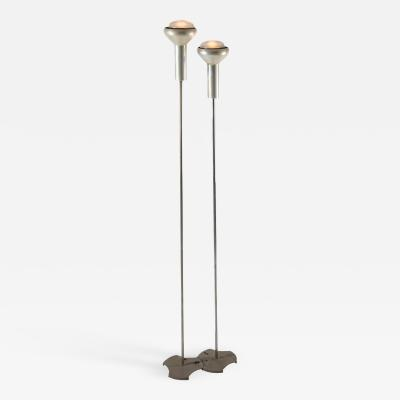 Gino Sarfatti Pair of Floor Lamps by Gino Sarfatti for Arteluce
