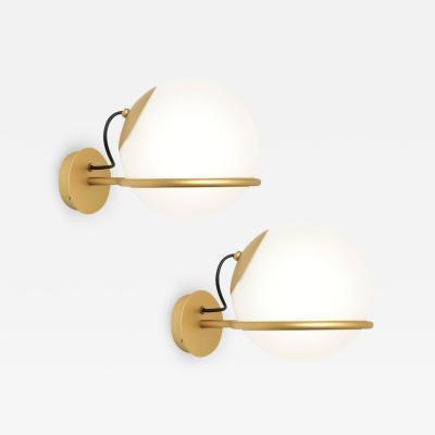 Gino Sarfatti Pair of Gino Sarfatti Model 238 1 Wall Lamps