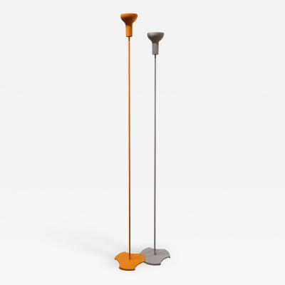 Gino Sarfatti Pair of floor lamps by Gino Sarfatti