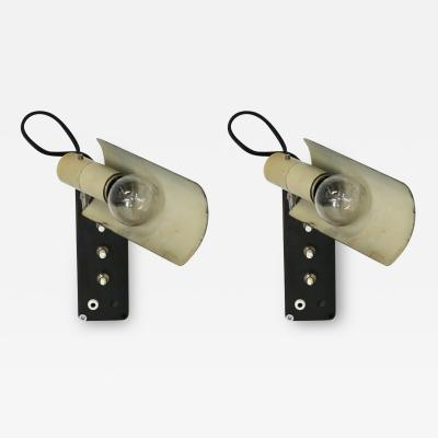 Gino Sarfatti Pair of lamps sa parete by Gino Sarfatti for Arteluce Mod 222 of 1950