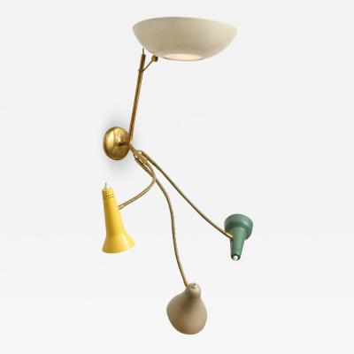 Gino Sarfatti Rare Wall Sconce 179 by Gino Sarfatti for Arteluce