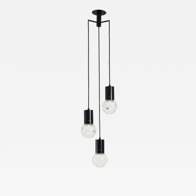 Gino Sarfatti Three Light Pendant