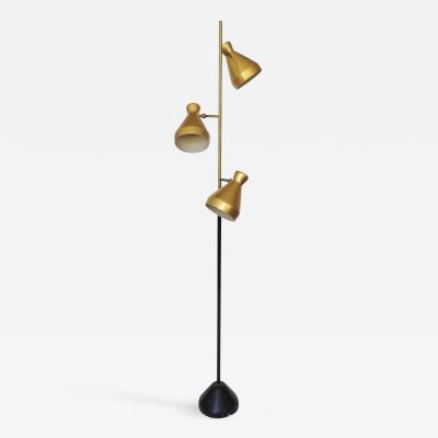 Gino Sarfatti Unique Gino Sarfatti Variant Floor Lamp for Arteluce Italy 1950s