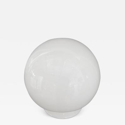 Gino Vistosi Mid Century Modern Italian Gino Vistosi White Murano Glass Mushroom Lamp
