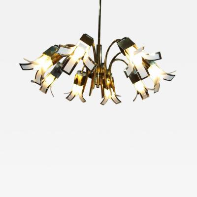 Gino Vistosi Murano Chandelier by Vistosi 1970s